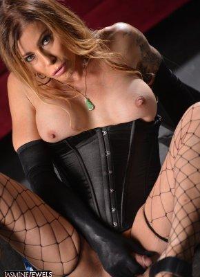 Jasmine Jewels cock Stroker