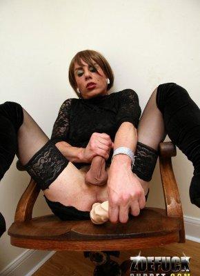 big dildo in ass shemale