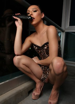 Chanel Santini Sexy Dildo Play
