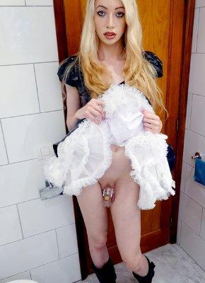 Sasha De Sade Horny Transsexual Slut