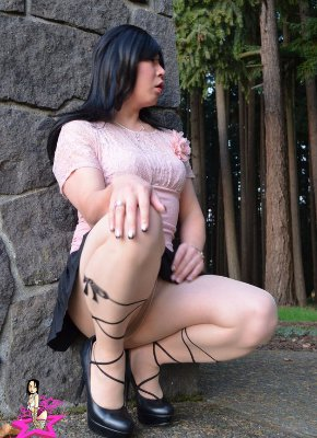 Ladyboy Waiting For Cock